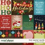 Hey Santa Cards by lliella designs