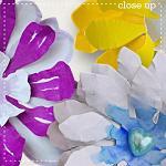 CU Paper Flowers 2 by lliella designs