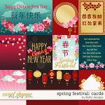 Spring Festival Cards by lliella designs