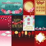 Spring Festival Cards by lliella designs