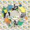 A digital scrapbooking layout by Sara using Spring Clean by lliella designs