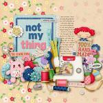 Layout by Kim using Sew Much Fun by lliella designs