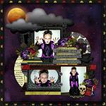 Layout by Michelle using Black Magic by lliella designs