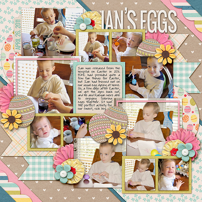 Layout by Lydia
