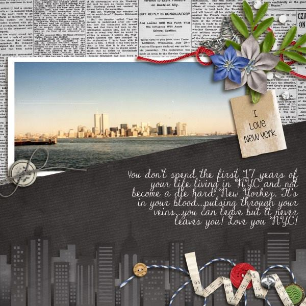 Digital scrapbooking layout by Erin using Ninja Dudes Kit by lliella designs