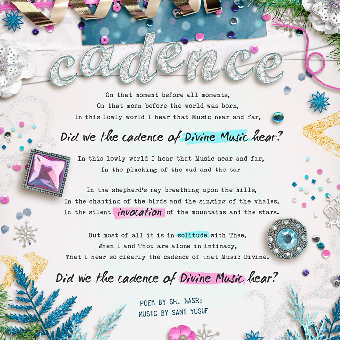 Digital scrapbooking layout by Zakirah using Frosty Party Kit by lliella designs
