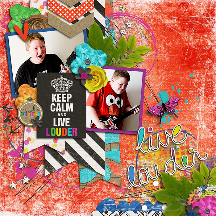 Layout by Judie
