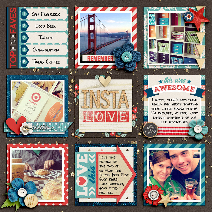 Layout by Lynnette