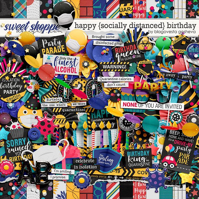 Happy {socially distanced} Birthday by Blagovesta Gosheva