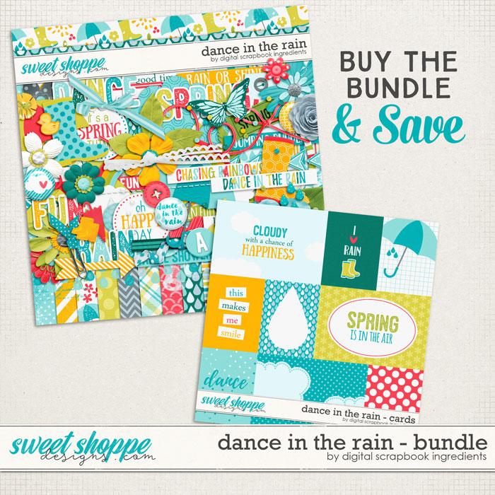 Dance In The Rain Bundle by Digital Scrapbook Ingredients