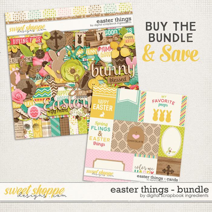Easter Things Bundle by Digital Scrapbook Ingredients