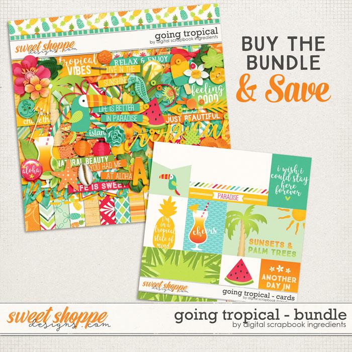 Going Tropical Bundle by Digital Scrapbook Ingredients