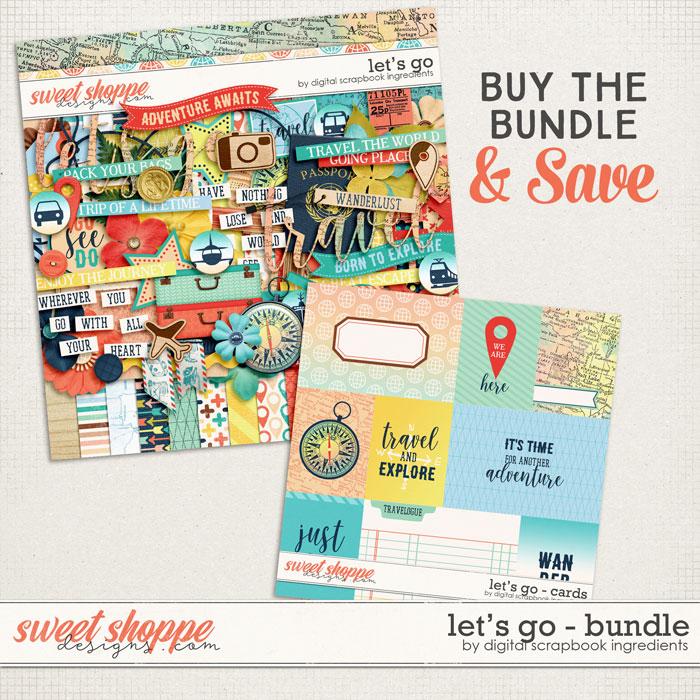 Let's Go Bundle by Digital Scrapbook Ingredients
