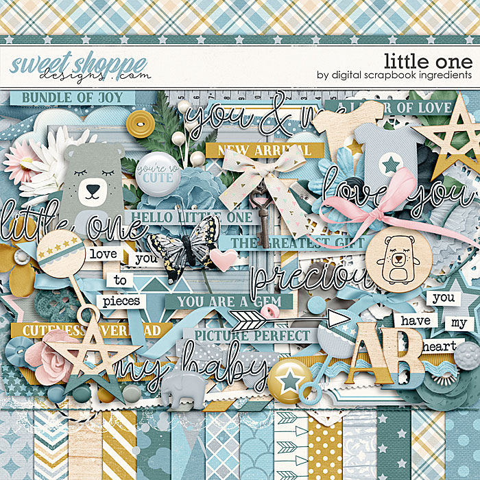 Little One by Digital Scrapbook Ingredients