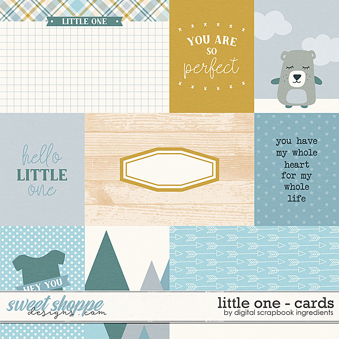 Little One | Cards by Digital Scrapbook Ingredients