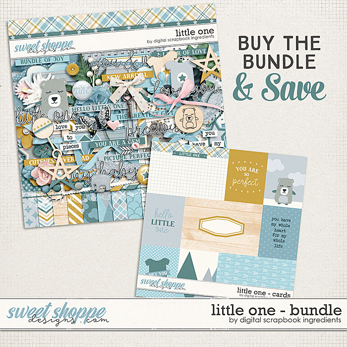 Little One Bundle by Digital Scrapbook Ingredients