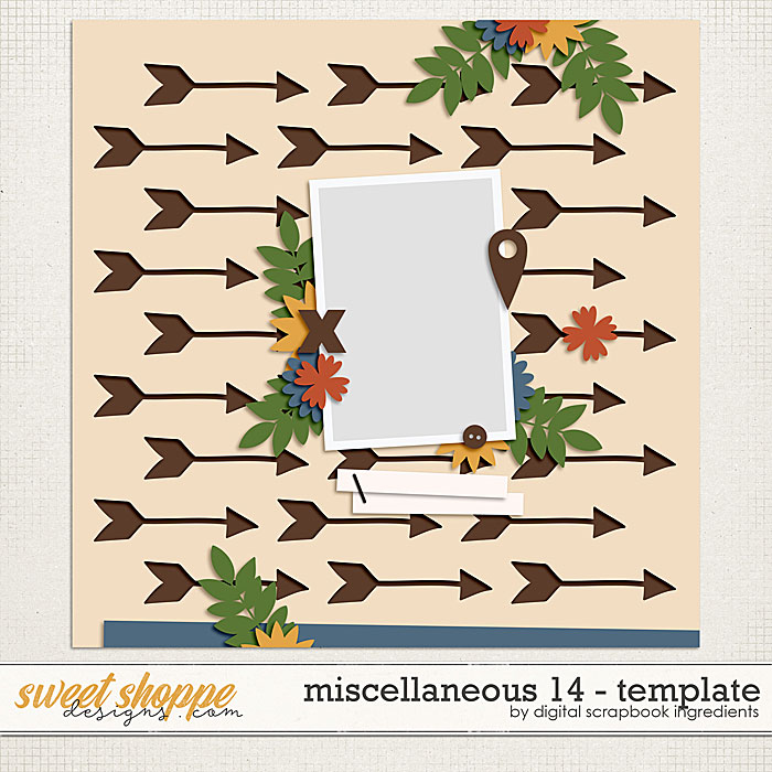 Miscellaneous 14 Template by Digital Scrapbook Ingredients
