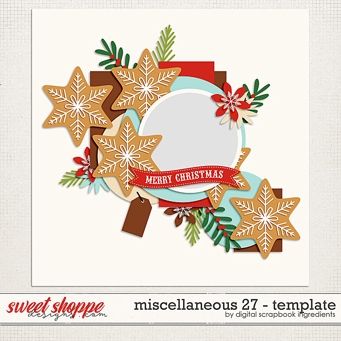 Miscellaneous 27 Template by Digital Scrapbook Ingredients