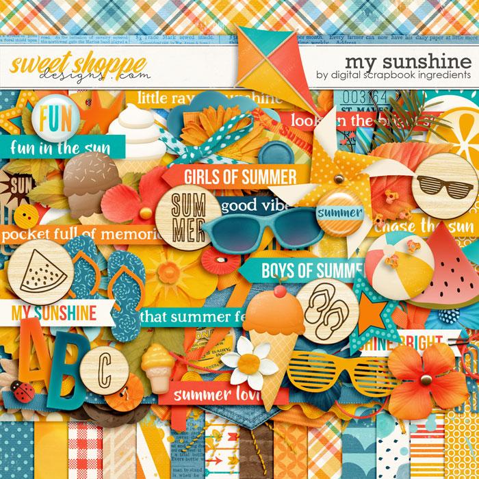 My Sunshine by Digital Scrapbook Ingredients
