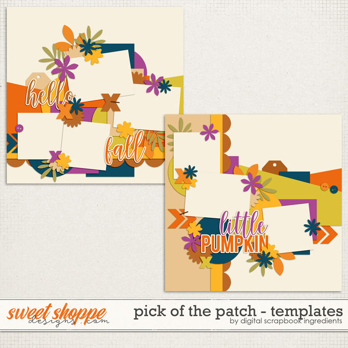 Pick Of The Patch | Templates by Digital Scrapbook Ingredients