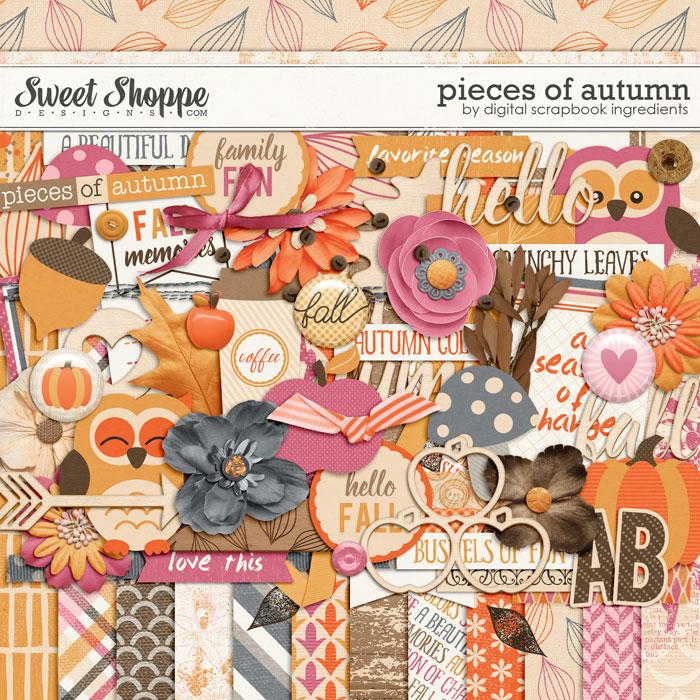 Pieces Of Autumn by Digital Scrapbook Ingredients