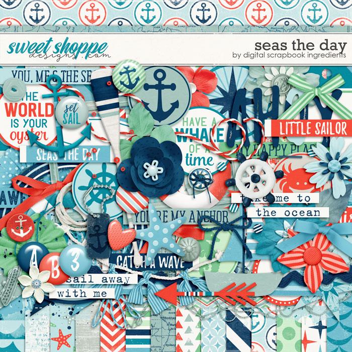 Seas The Day by Digital Scrapbook Ingredients