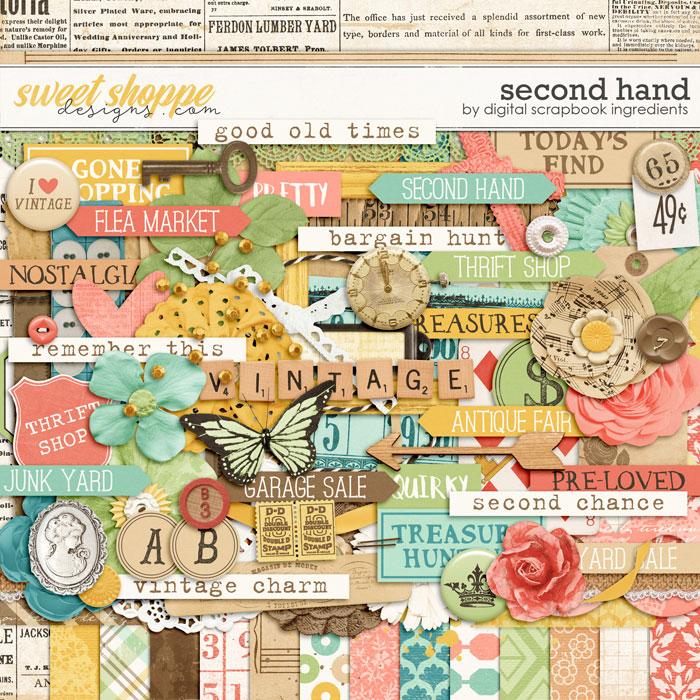 Second Hand by Digital Scrapbook Ingredients