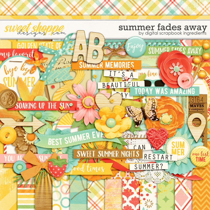 Summer Fades Away by Digital Scrapbook Ingredients