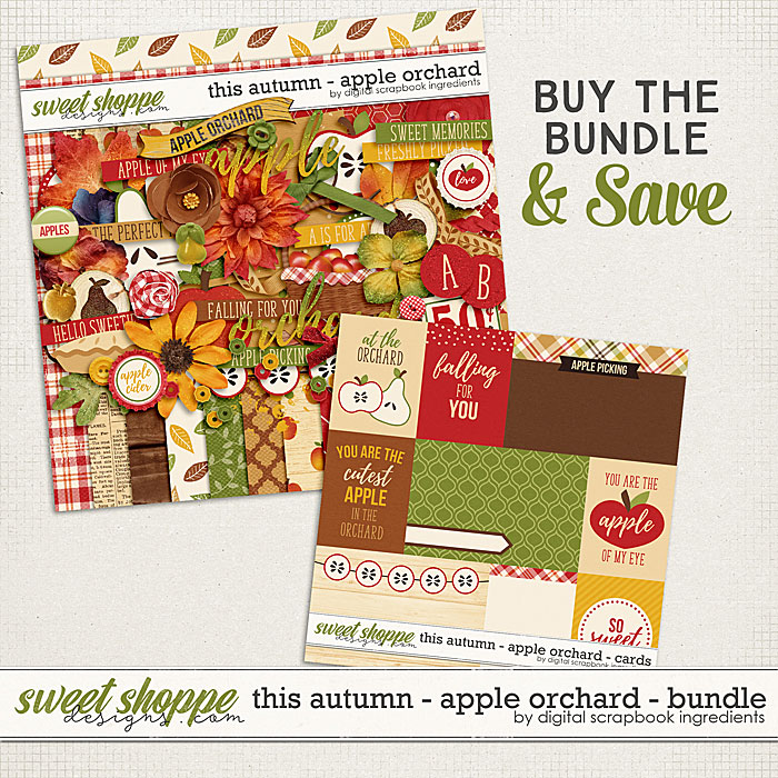 This Autumn - Apple Orchard Bundle by Digital Scrapbook Ingredients