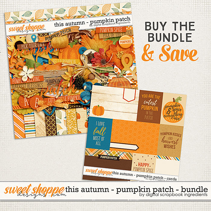 This Autumn - Pumpkin Patch Bundle by Digital Scrapbook Ingredients