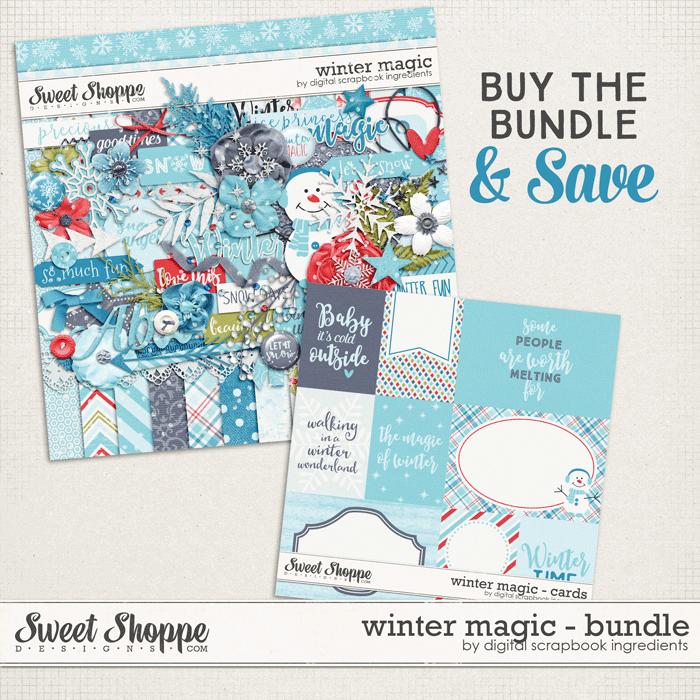 Winter Magic Bundle by Digital Scrapbook Ingredients