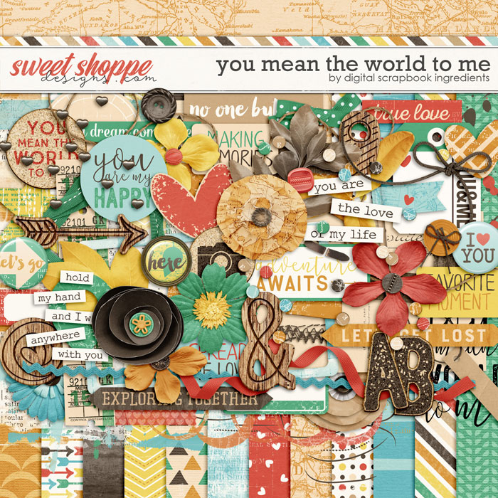 You Mean The World To Me by Digital Scrapbook Ingredients
