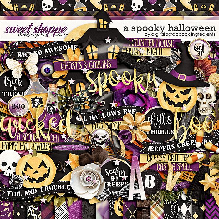 A Spooky Halloween by Digital Scrapbook Ingredients