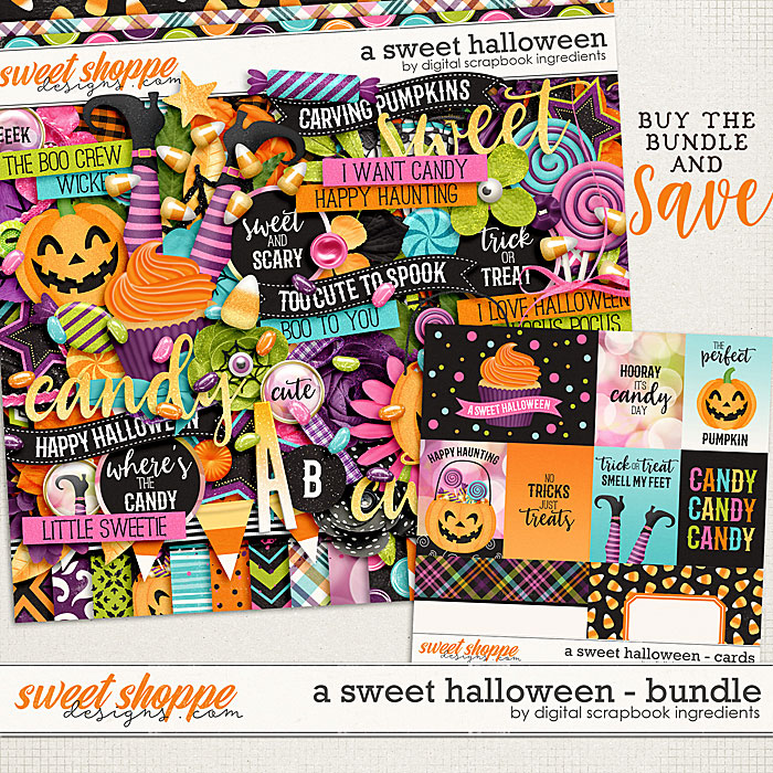 A Sweet Halloween Bundle by Digital Scrapbook Ingredients