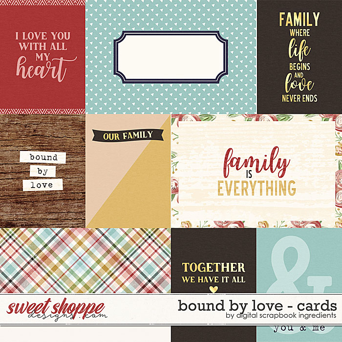 Bound By Love | Cards by Digital Scrapbook Ingredients