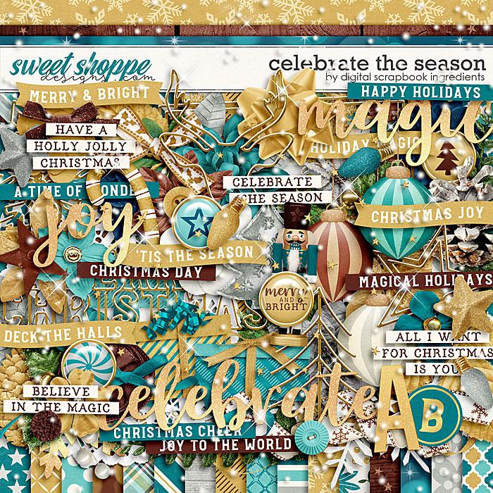 Celebrate The Season by Digital Scrapbook Ingredients