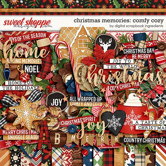 Christmas Memories: Comfy Cozy by Digital Scrapbook Ingredients