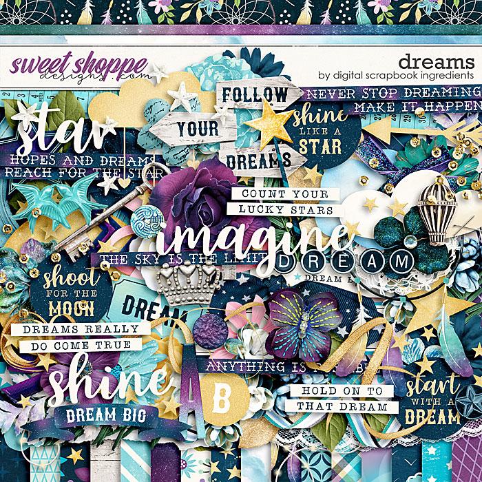 Dreams by Digital Scrapbook Ingredients