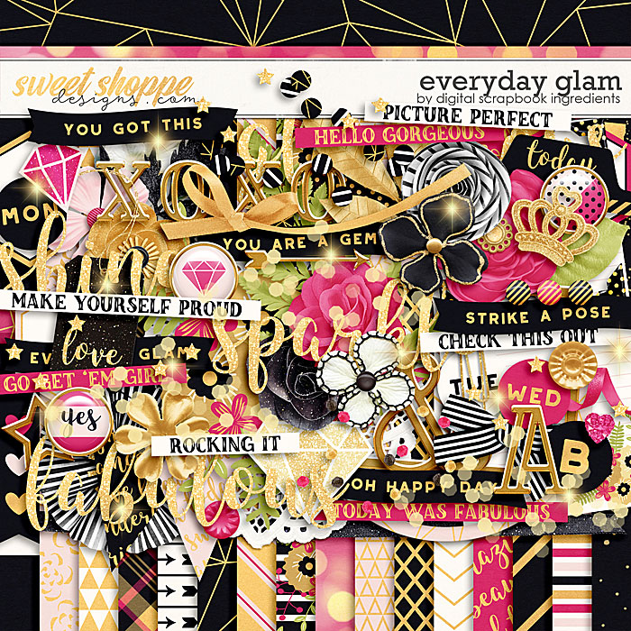 Everyday Glam by Digital Scrapbook Ingredients