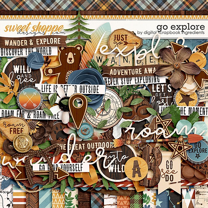 Go Explore by Digital Scrapbook Ingredients