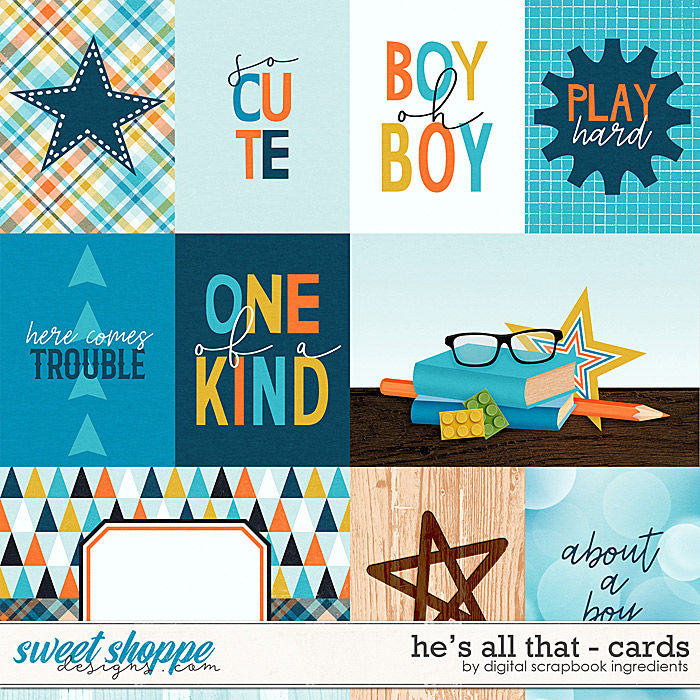 He's All That | Cards by Digital Scrapbook Ingredients
