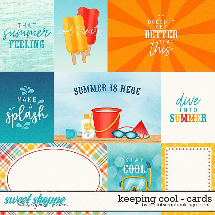 Keeping Cool | Cards by Digital Scrapbook Ingredients