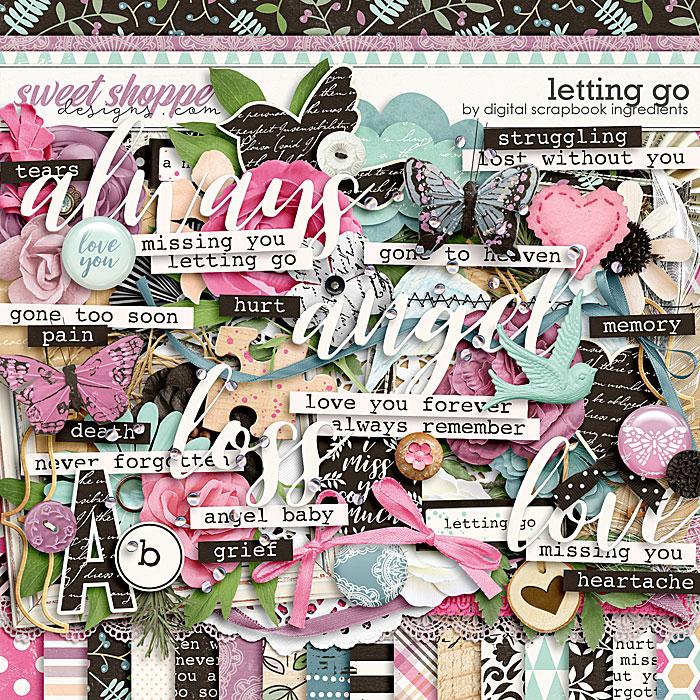Letting Go by Digital Scrapbook Ingredients