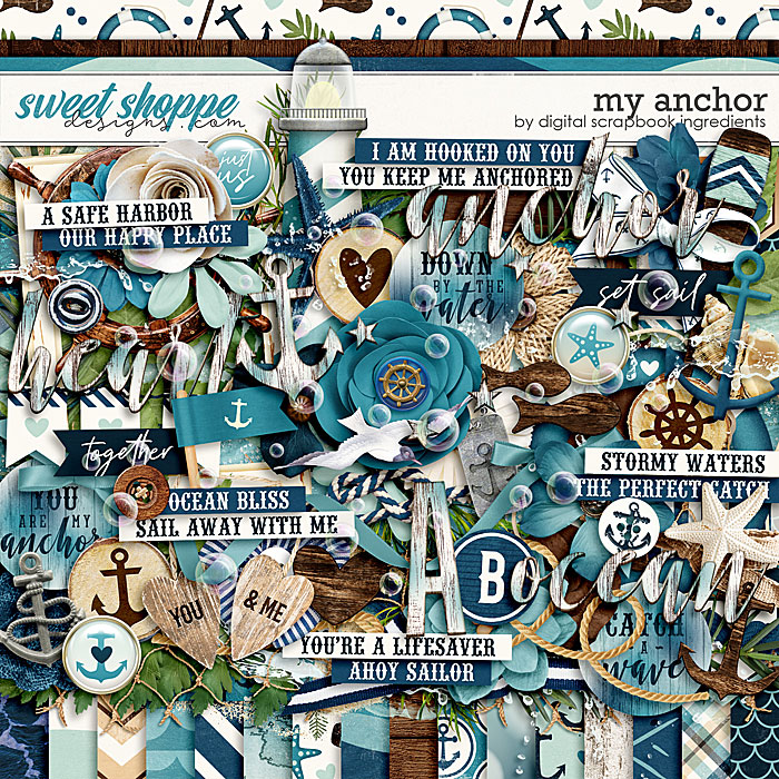 My Anchor by Digital Scrapbook Ingredients