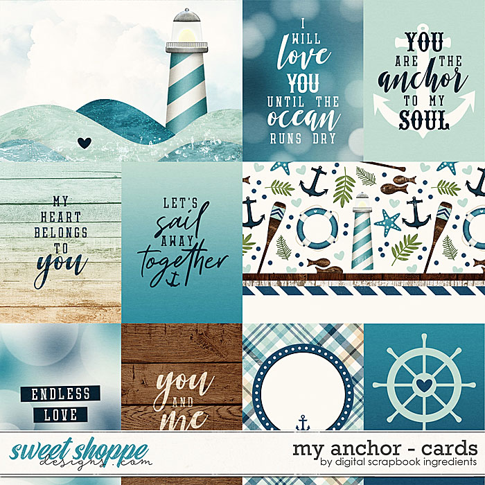 My Anchor | Cards by Digital Scrapbook Ingredients