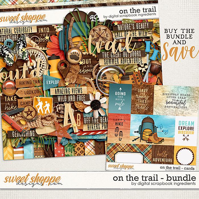 On The Trail Bundle by Digital Scrapbook Ingredients