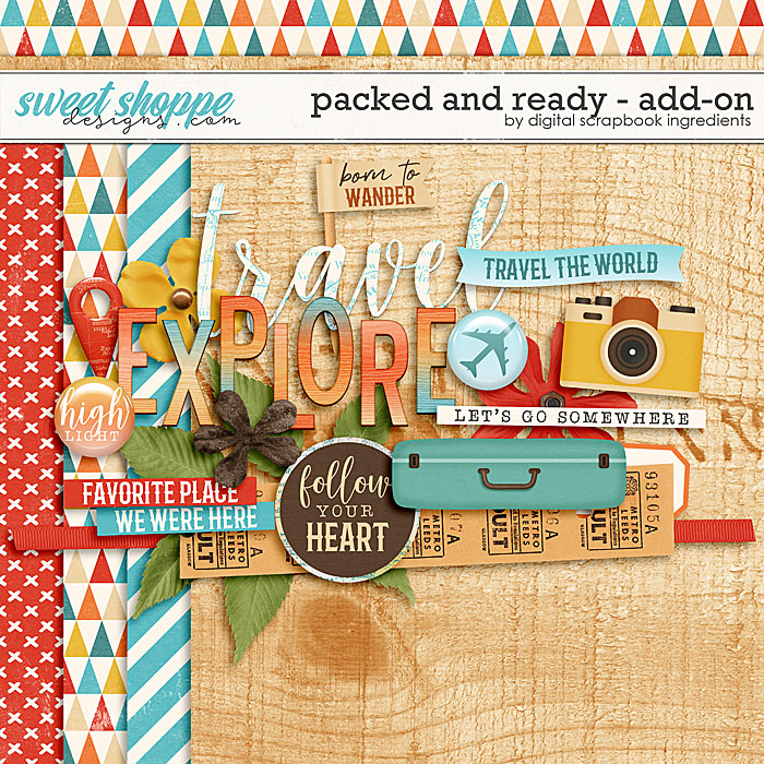 Packed And Ready Add-On by Digital Scrapbook Ingredients