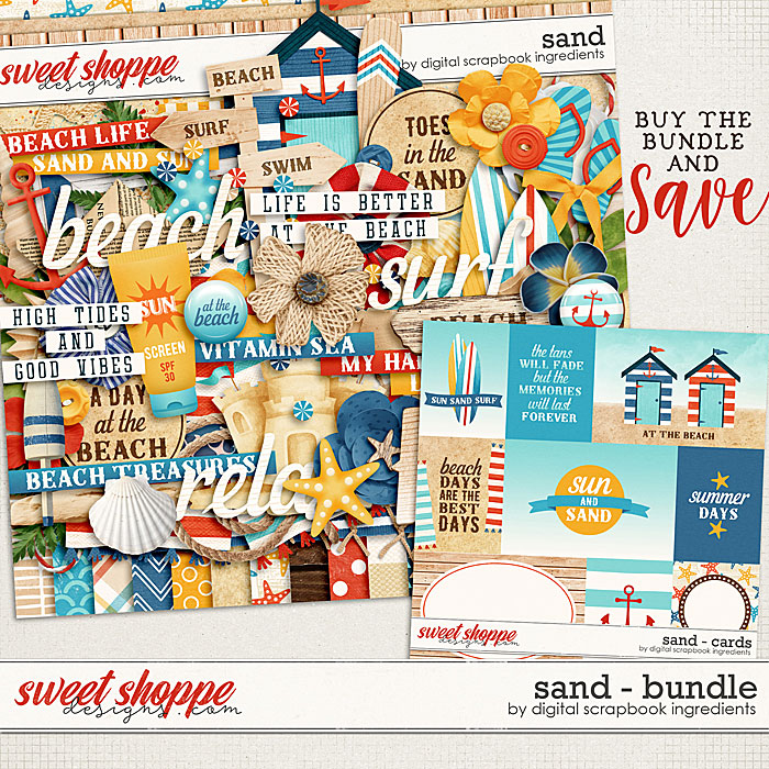 Sand Bundle by Digital Scrapbook Ingredients