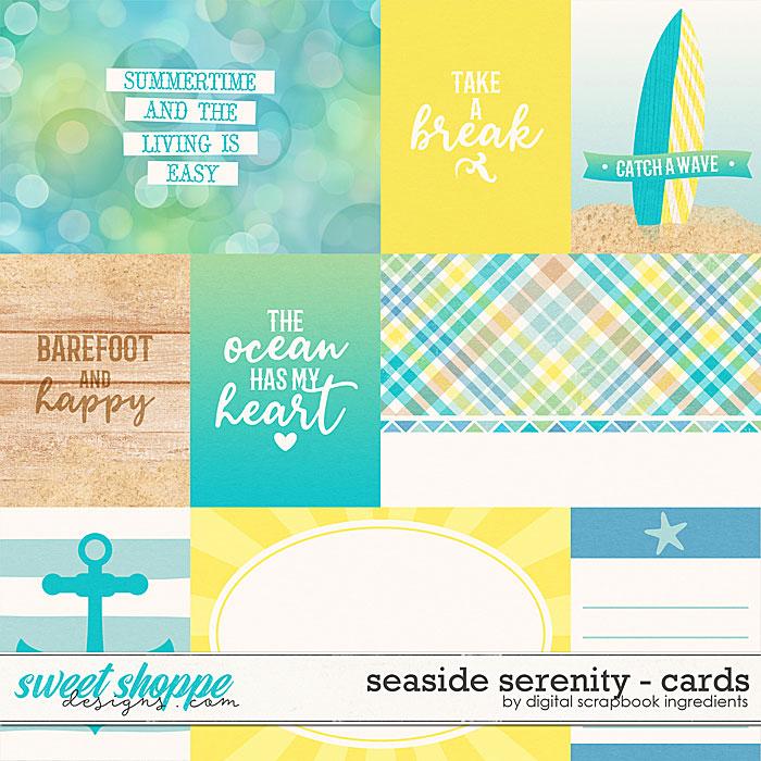 Seaside Serenity | Cards by Digital Scrapbook Ingredients