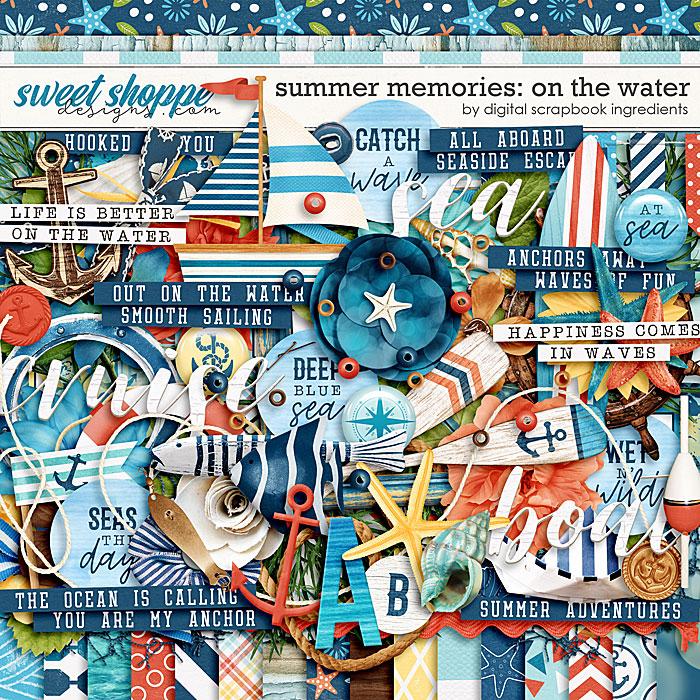 Summer Memories: On The Water by Digital Scrapbook Ingredients